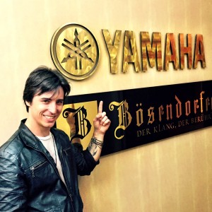 Matt at Yamaha HQ in NYC