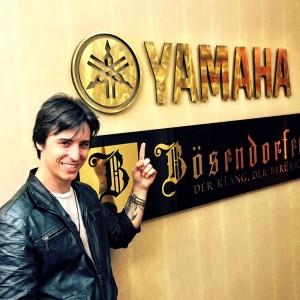 Matt at Yamaha HQ in NYC