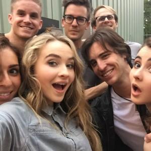 Sabrina band selfie - Six Flags NJ