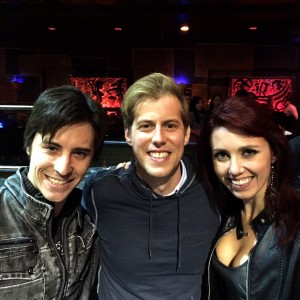 With Andrew McMahon of Jack's Mannequin