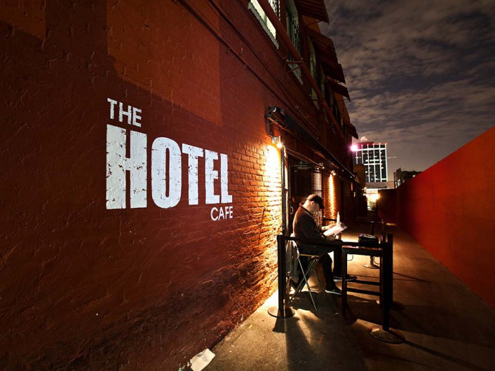 MJ Hits the Hotel Cafe: Second Stage on 3/23/16!