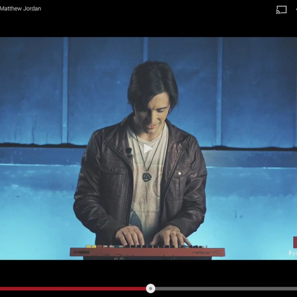 """MJ featured in promo for Yamaha """"Reface"""" synths!"""
