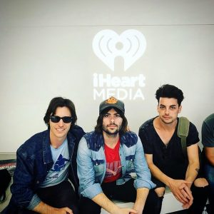 At iHeartRadio with Rooney