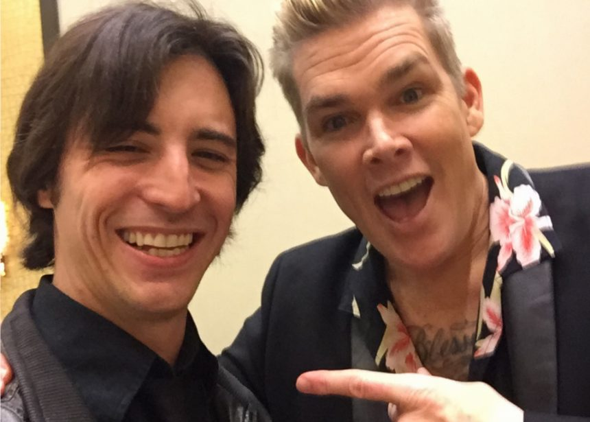 Matt Backs Up Mark McGrath, Steve Augeri & More